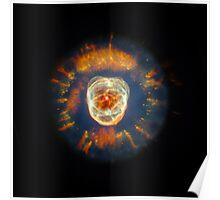 Eskimo Nebula | Fresh Universe Poster