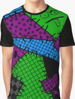 Patchwork Punk Graphic T-Shirt