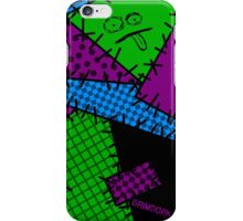 Patchwork Punk iPhone Case/Skin