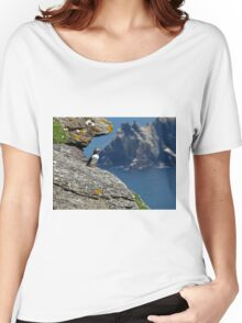 Puffin Skellig Island, Ireland Women's Relaxed Fit T-Shirt