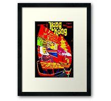 """""""TWA"""" Fly to Hong Kong Travel Print Framed Print"""