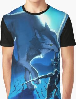 Sif the Great Grey Wolf Graphic T-Shirt