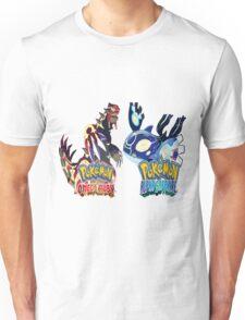 Kyogre & Groudon Unisex T-Shirt