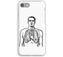 Man and Lungs iPhone Case/Skin