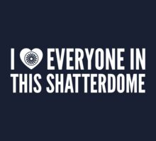 I LOVE EVERYONE IN THIS SHATTERDOME (revised) by soididthisthing