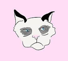 Cranky Cat by sarahlmcc
