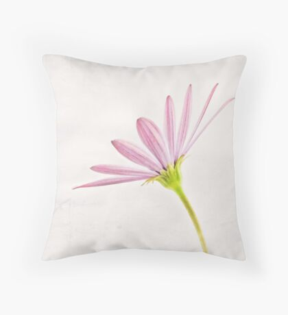 Daisy Old Paper Throw Pillow