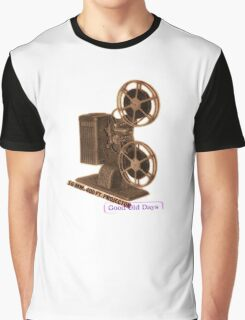 vintage movie projector Graphic T-Shirt