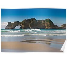Archway Islands, New Zealand Poster