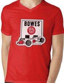 Bowes Seal-Fast (1966 Indy 500) Mens V-Neck T-Shirt