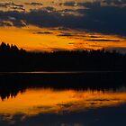 Cariboo Sunset by Skye Ryan-Evans
