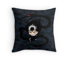 Chibi Hiei  Throw Pillow