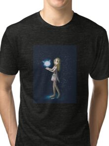 Princess Zelda and Fairy Tri-blend T-Shirt