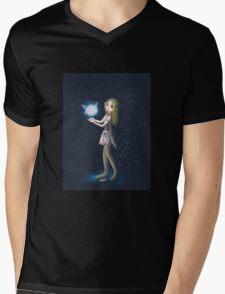 Princess Zelda and Fairy Mens V-Neck T-Shirt