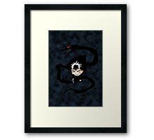 Chibi Hiei  Framed Print