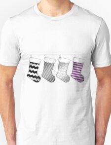 Asexual Christmas Stockings Unisex T-Shirt