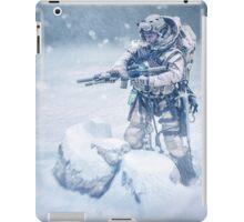 Snow soldier iPad Case/Skin