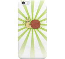 Adventure Time snail possessed - Green Case iPhone Case/Skin