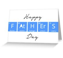 Happy Father's Day- Periodic Table Greeting Card