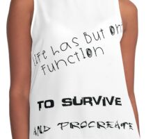 Life's Function   Contrast Tank