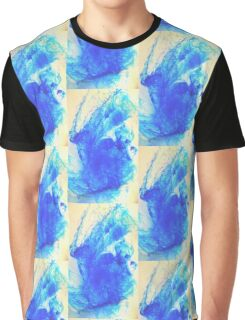 BLUE FUSION  Graphic T-Shirt