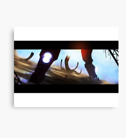 The Iron Protector Canvas Print
