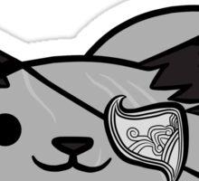 Iron Bull the Cat Sticker