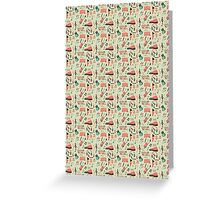 Once Seamless Pattern Greeting Card