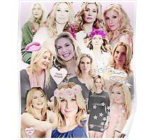 Elizabeth Mitchell Collage Poster
