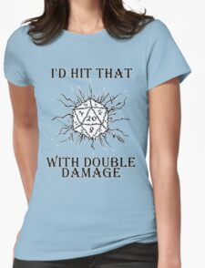 I'd Hit That D20 Womens Fitted T-Shirt