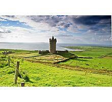 Doonagore Irish Castle, Doolin, County Clare, Ireland Photographic Print