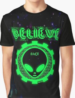Believe Alien Fact Graphic T-Shirt