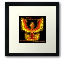 The Phoenix- Fall Out Boy Framed Print