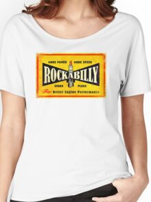 Champion Rockabilly Spark Plugs Women's Relaxed Fit T-Shirt