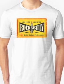 Champion Rockabilly Spark Plugs Unisex T-Shirt
