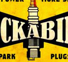 Champion Rockabilly Spark Plugs Sticker