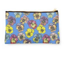 Sea of Pansies Studio Pouch