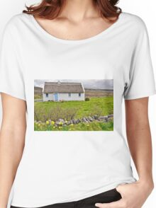 rural irish cottage in the burren countryside, county clare, ireland Women's Relaxed Fit T-Shirt