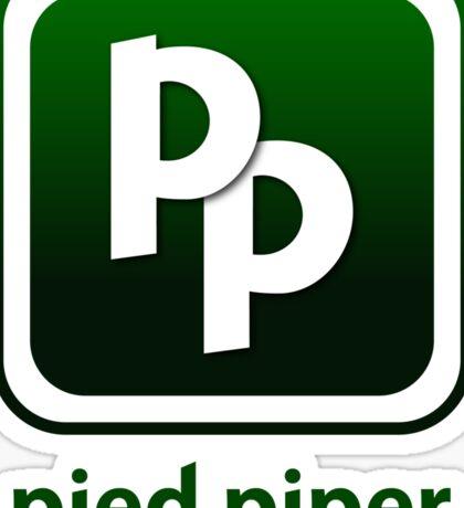 Pied Piper New Logo Shirt for Tech Crunch Disrupt Sticker