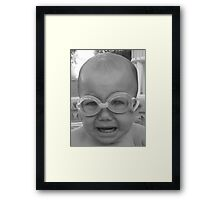 And Swimming is Fun!!!! Framed Print