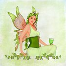 Absinthe the Green Fairy by SpiceTree