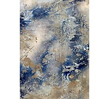 Ice (Abstract) Photographic Print