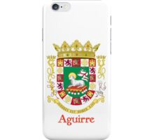 Aguirre Shield of Puerto Rico iPhone Case/Skin