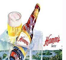Hamms Beer Pillow by goofygrape