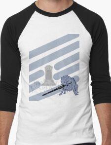 Great Grey Wolf Sif and Artorias Men's Baseball ¾ T-Shirt
