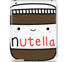 Nutella kawaii. iPad Case/Skin