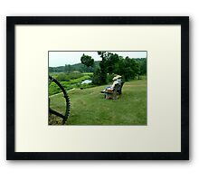 Ringwood Manor - A View of the Grounds and History Framed Print