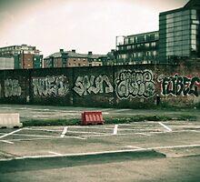 Manchester Street Art by leedgreen