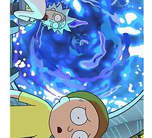 Rick And Morty Portal by thebeaverlegend