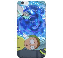 Rick And Morty Portal iPhone Case/Skin